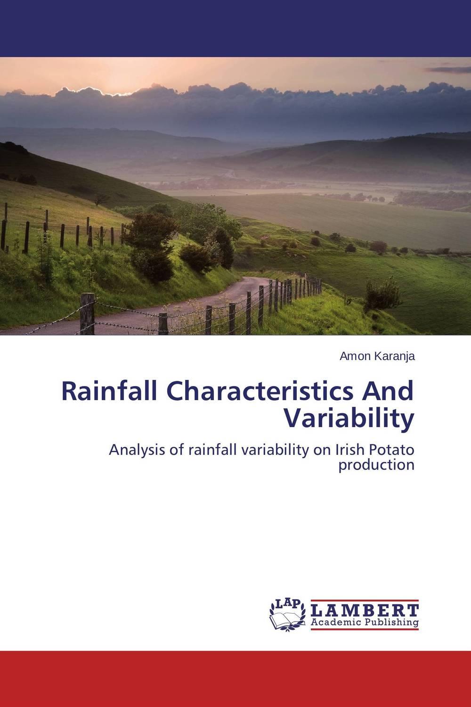 Rainfall Characteristics And Variability genetic variability in potato