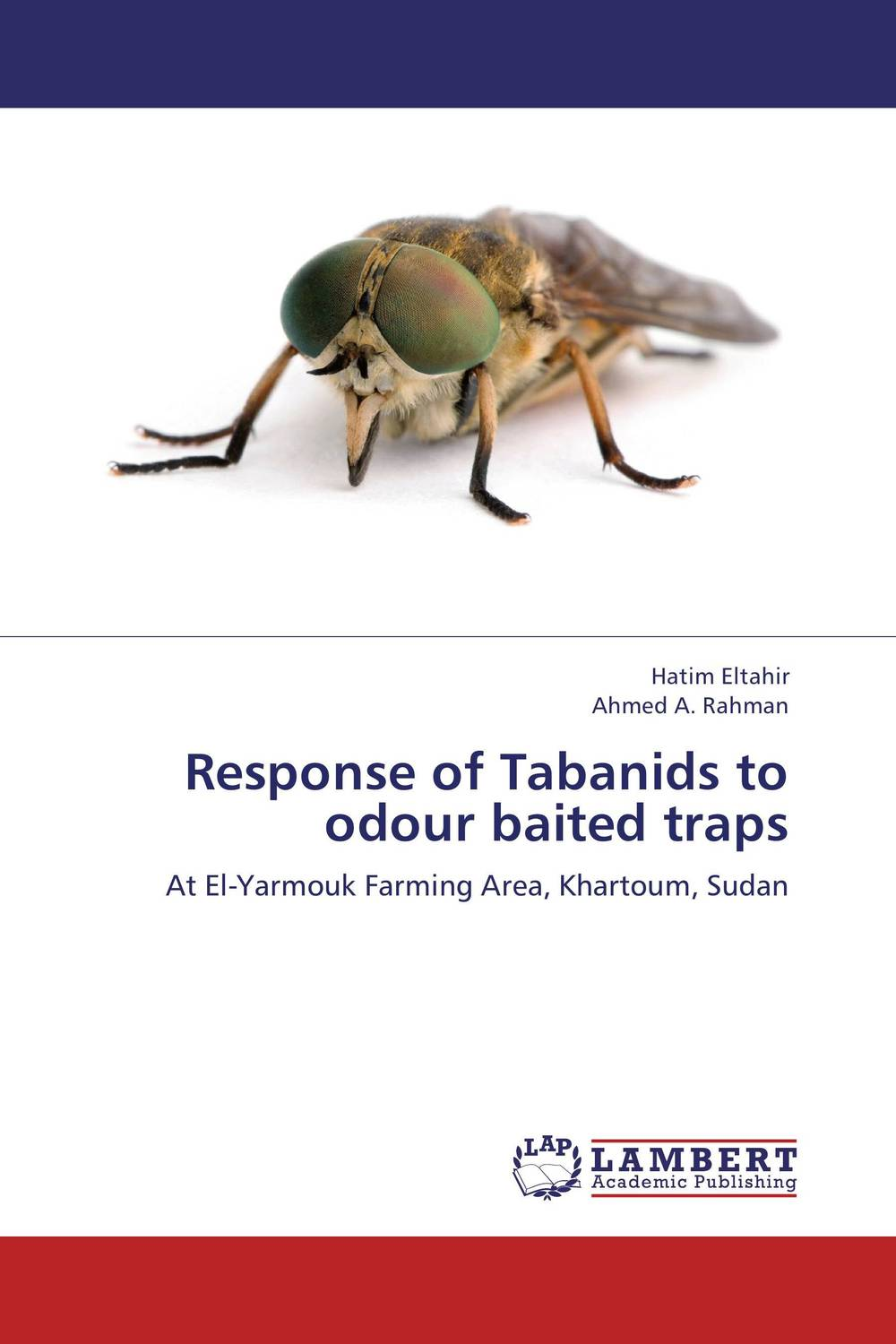 Response of Tabanids to odour baited traps phlebotomine sand flies of central sudan