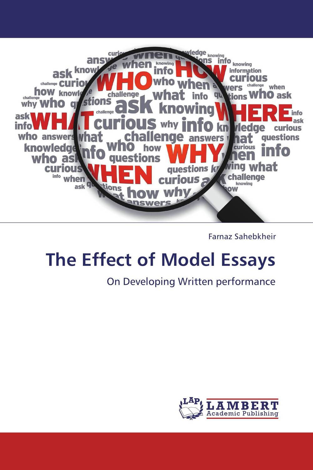 The Effect of Model Essays the effect of model essays