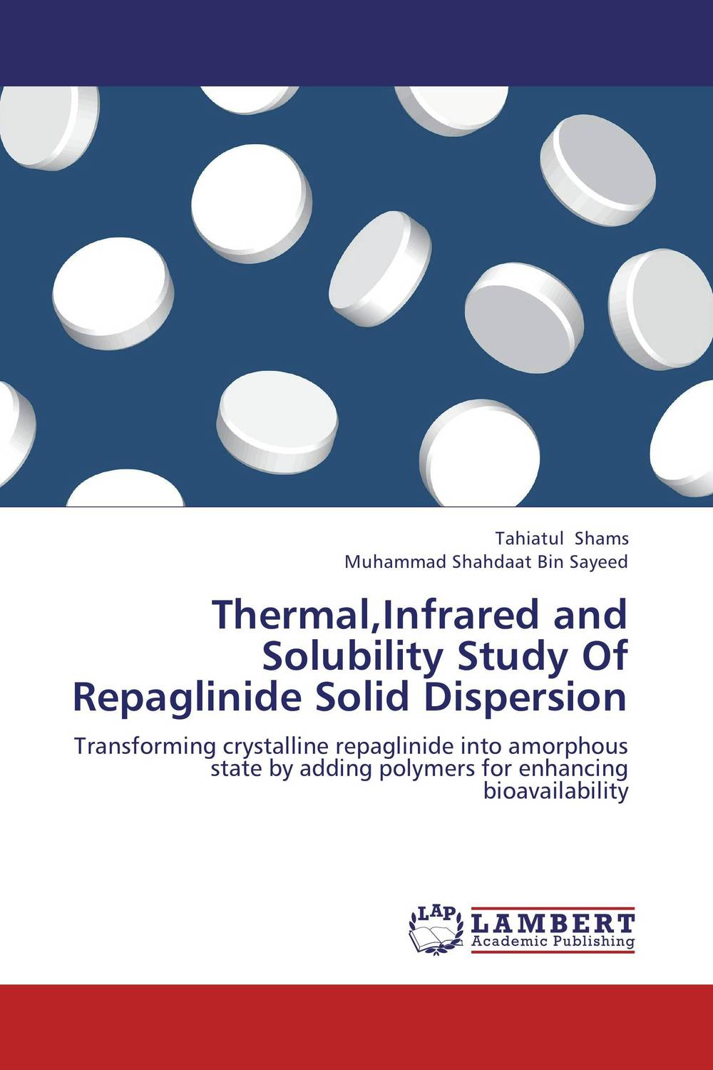 Thermal,Infrared and Solubility Study Of Repaglinide Solid Dispersion alex avdeef absorption and drug development solubility permeability and charge state