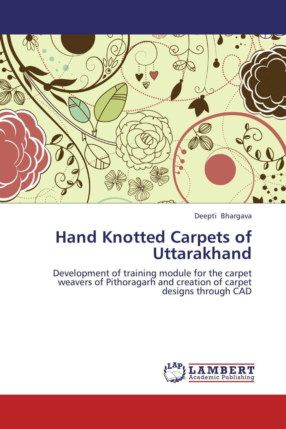 Hand Knotted Carpets of Uttarakhand learning carpets us map carpet lc 201