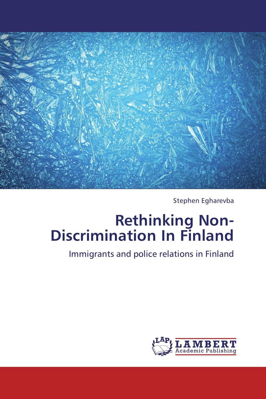 Rethinking Non-Discrimination In Finland