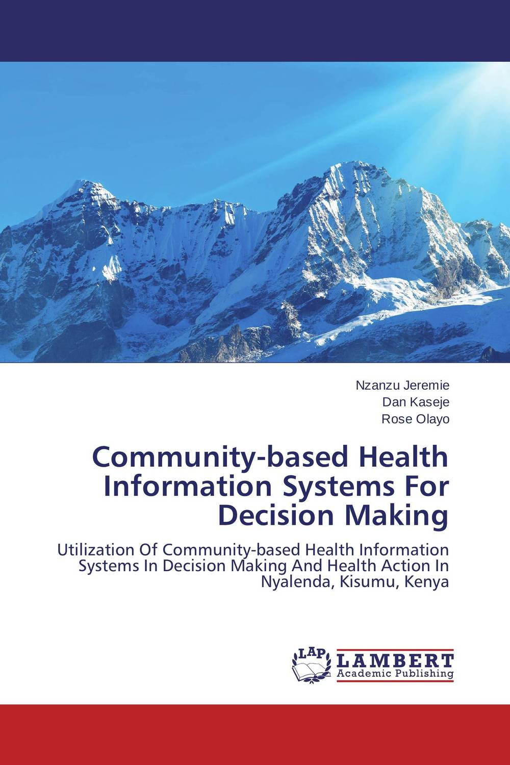 Community-based Health Information Systems For Decision Making mario tennis open
