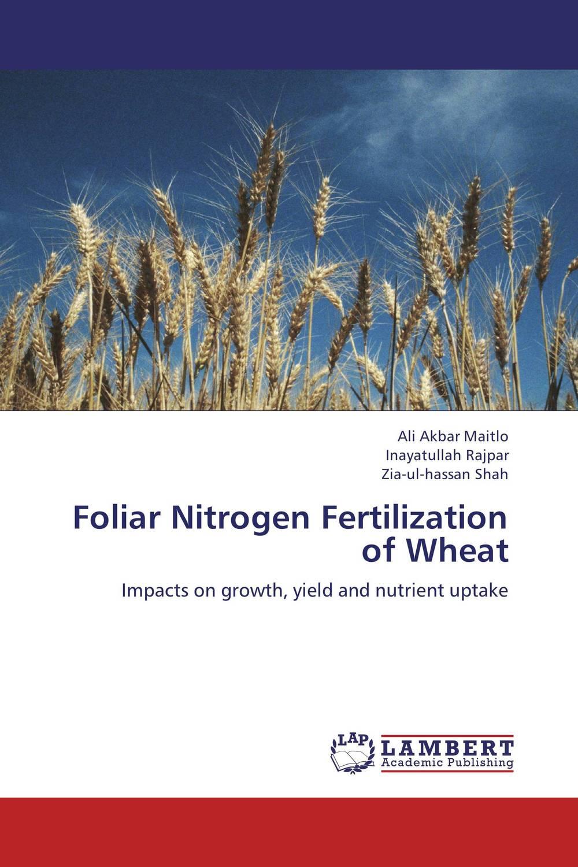 Foliar Nitrogen Fertilization of Wheat cleto namoobe and rajender kumar nanwal growth yield and quality of sorghum as influenced by nitrogen levels