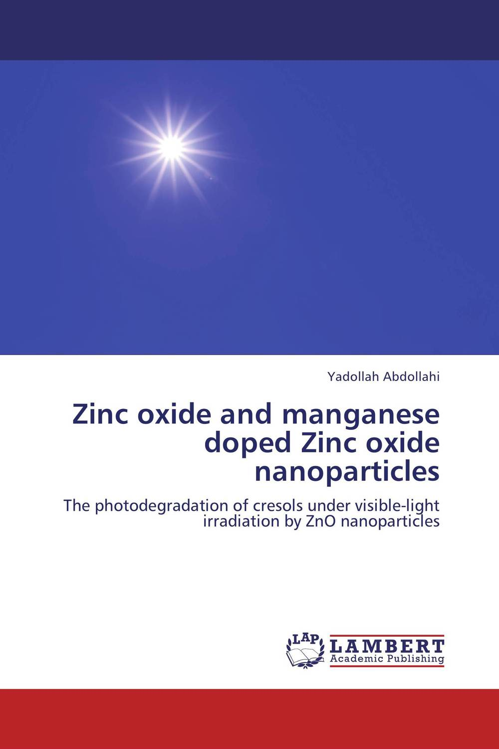Zinc oxide and manganese doped Zinc oxide nanoparticles zinc oxide and manganese doped zinc oxide nanoparticles