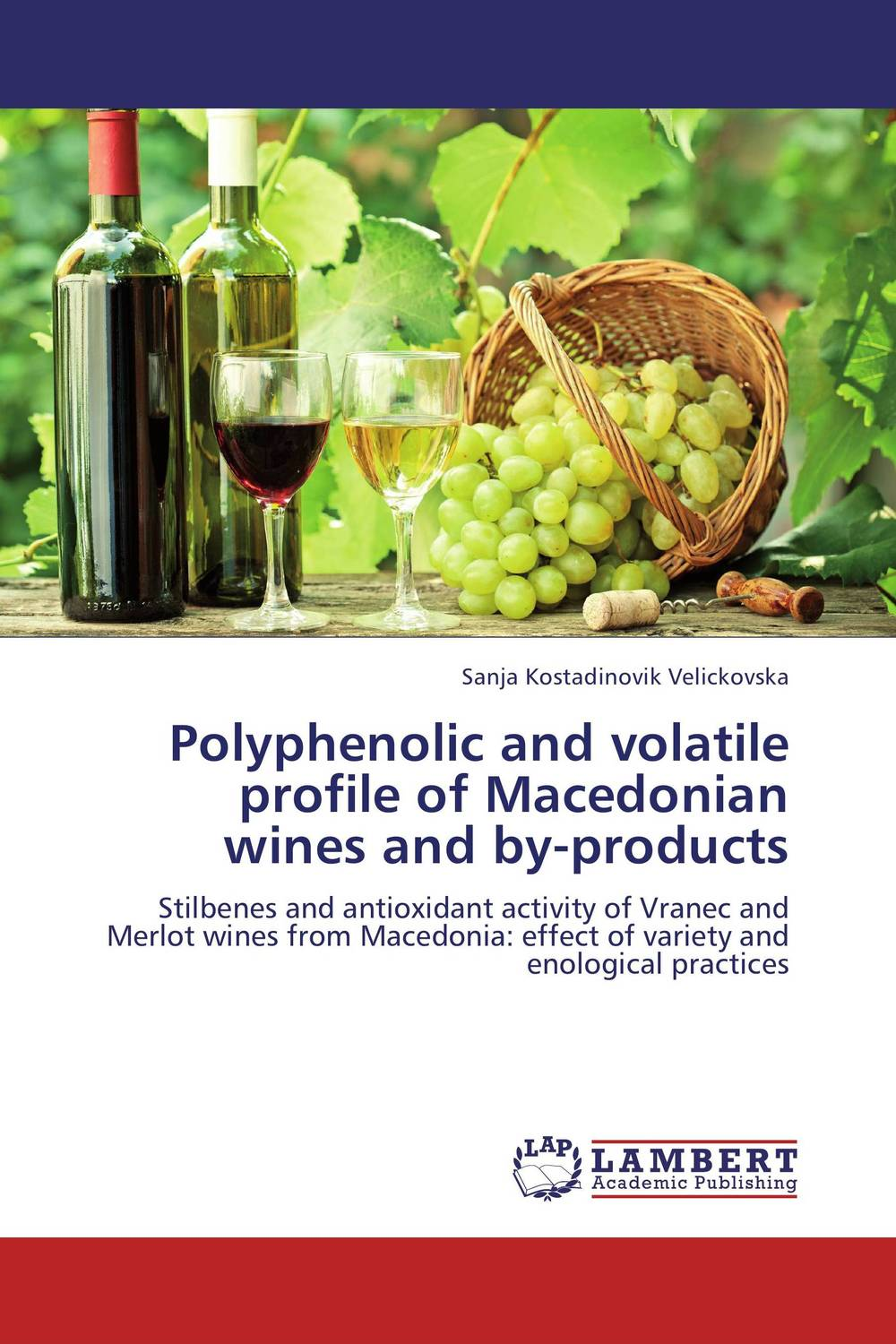 Polyphenolic and volatile profile of Macedonian wines and by-products using enzyme from novozyme
