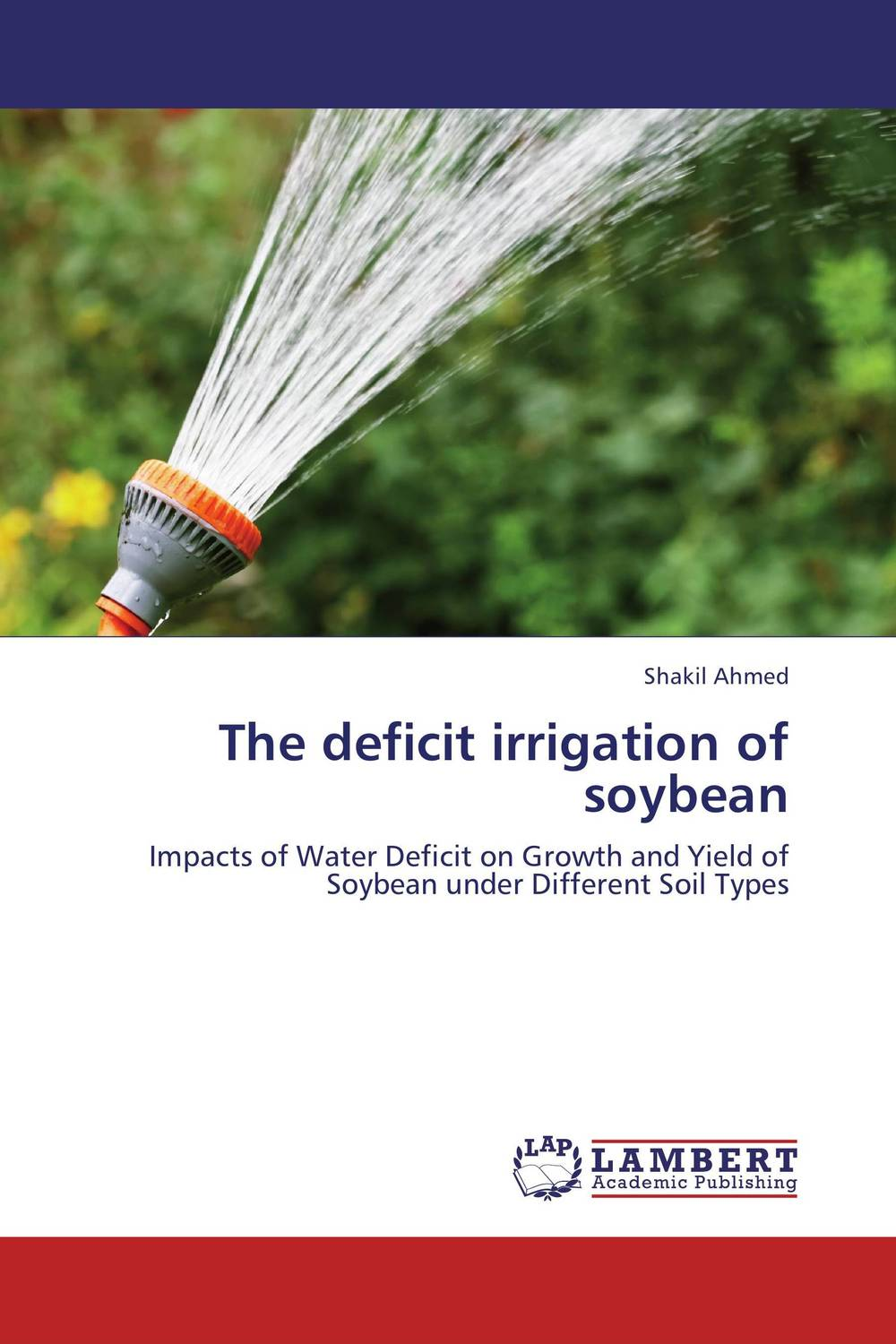 The deficit irrigation of soybean bride of the water god v 3