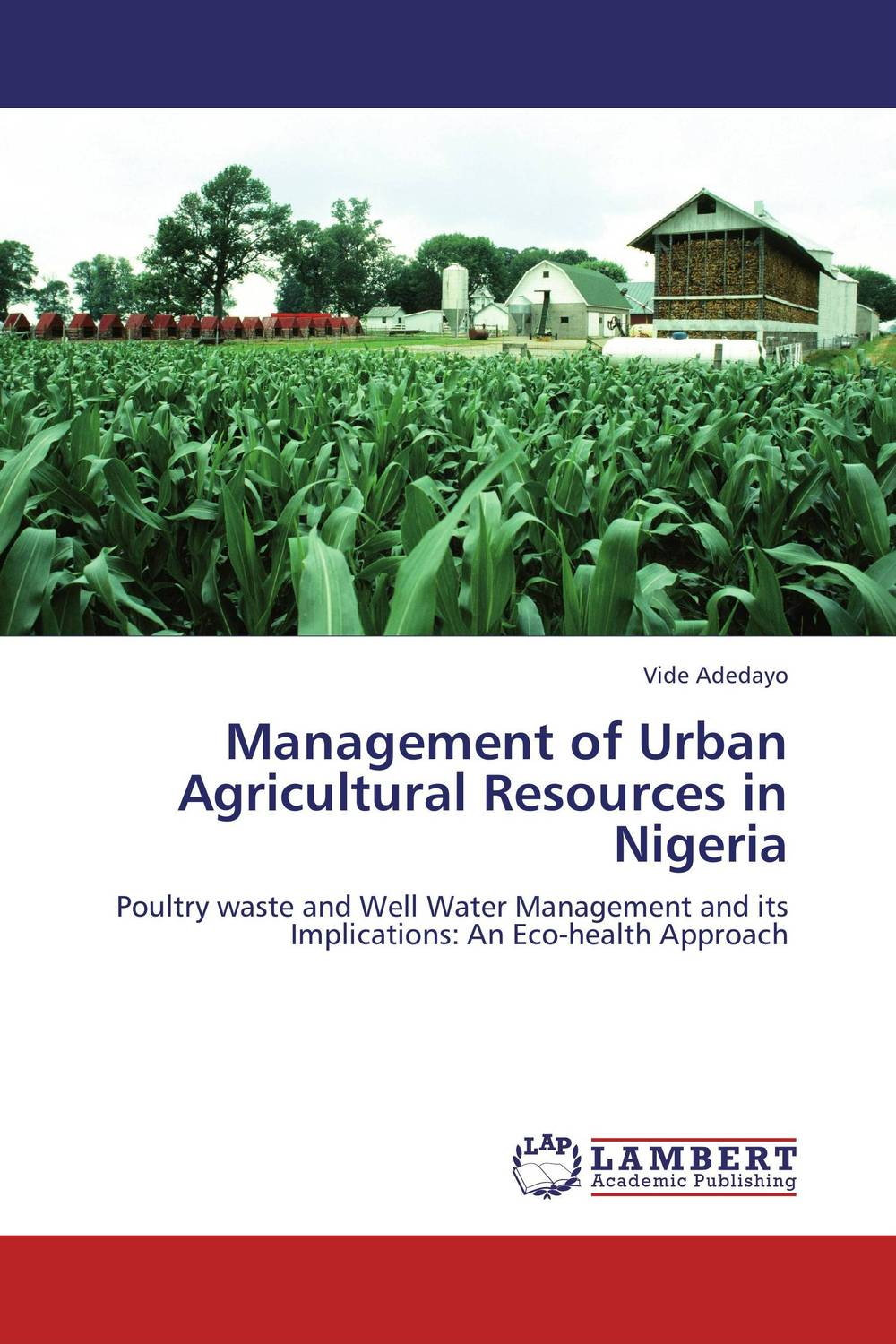 Management of Urban Agricultural Resources in Nigeria gender and socio economic wellbeing of older persons in nigeria