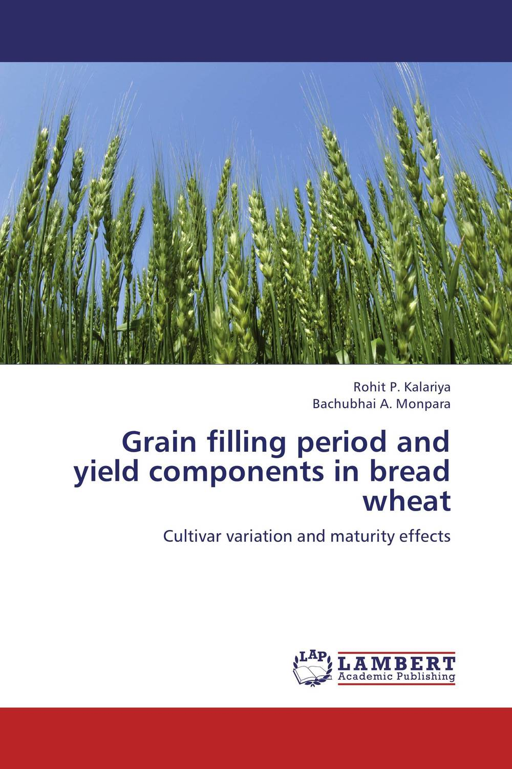 Zakazat.ru Grain filling period and yield components in bread wheat