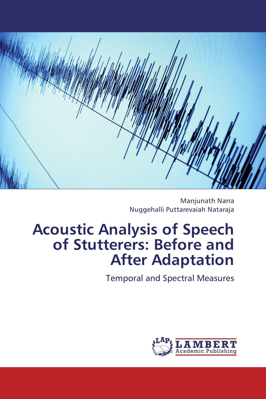 Zakazat.ru: Acoustic Analysis of Speech of Stutterers: Before and After Adaptation