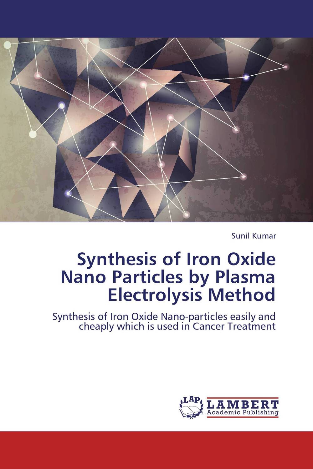 Synthesis of Iron Oxide Nano Particles by Plasma Electrolysis Method utilization of nano particles to impart functionality to textiles