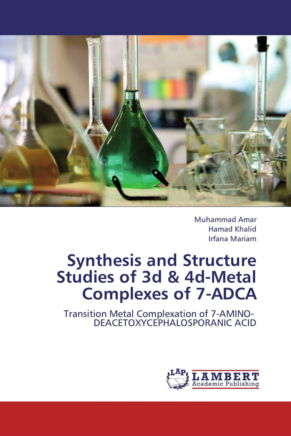 Synthesis and Structure Studies of 3d & 4d-Metal Complexes of 7-ADCA modified pnas synthesis and interaction studies with dna