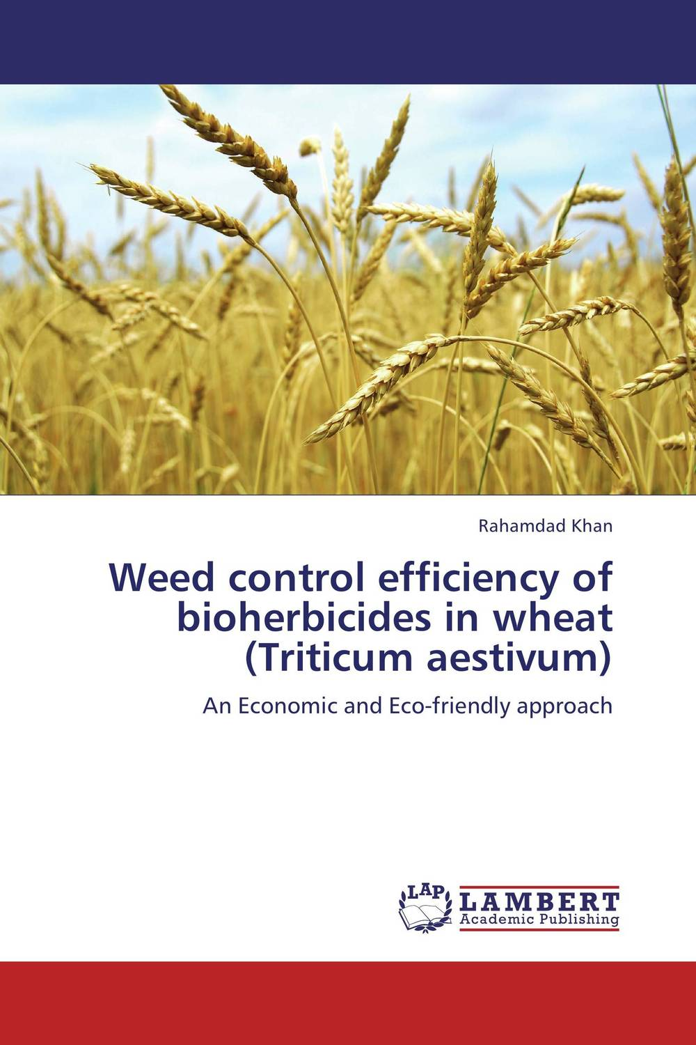 Weed control efficiency of bioherbicides in wheat (Triticum aestivum) weed management in sugarcane