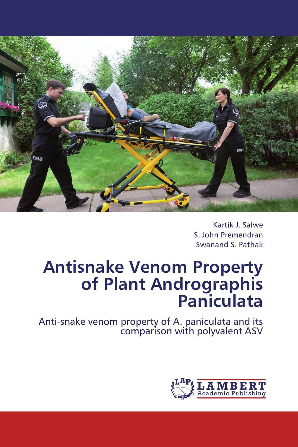 Antisnake Venom Property of Plant Andrographis Paniculata venom venom from the very depths 2 lp