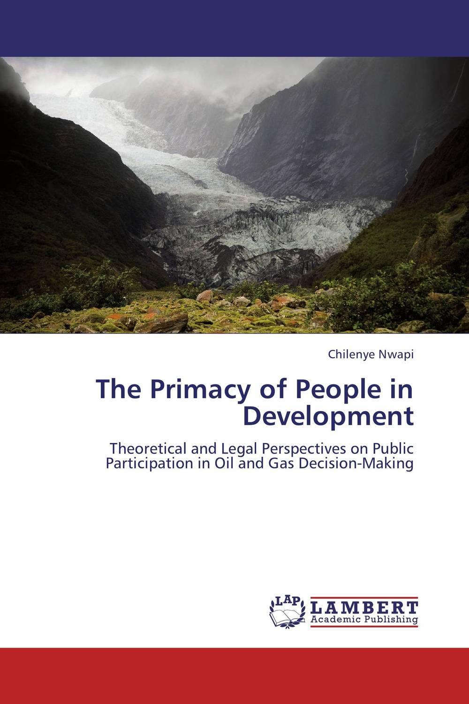 The Primacy of People in Development