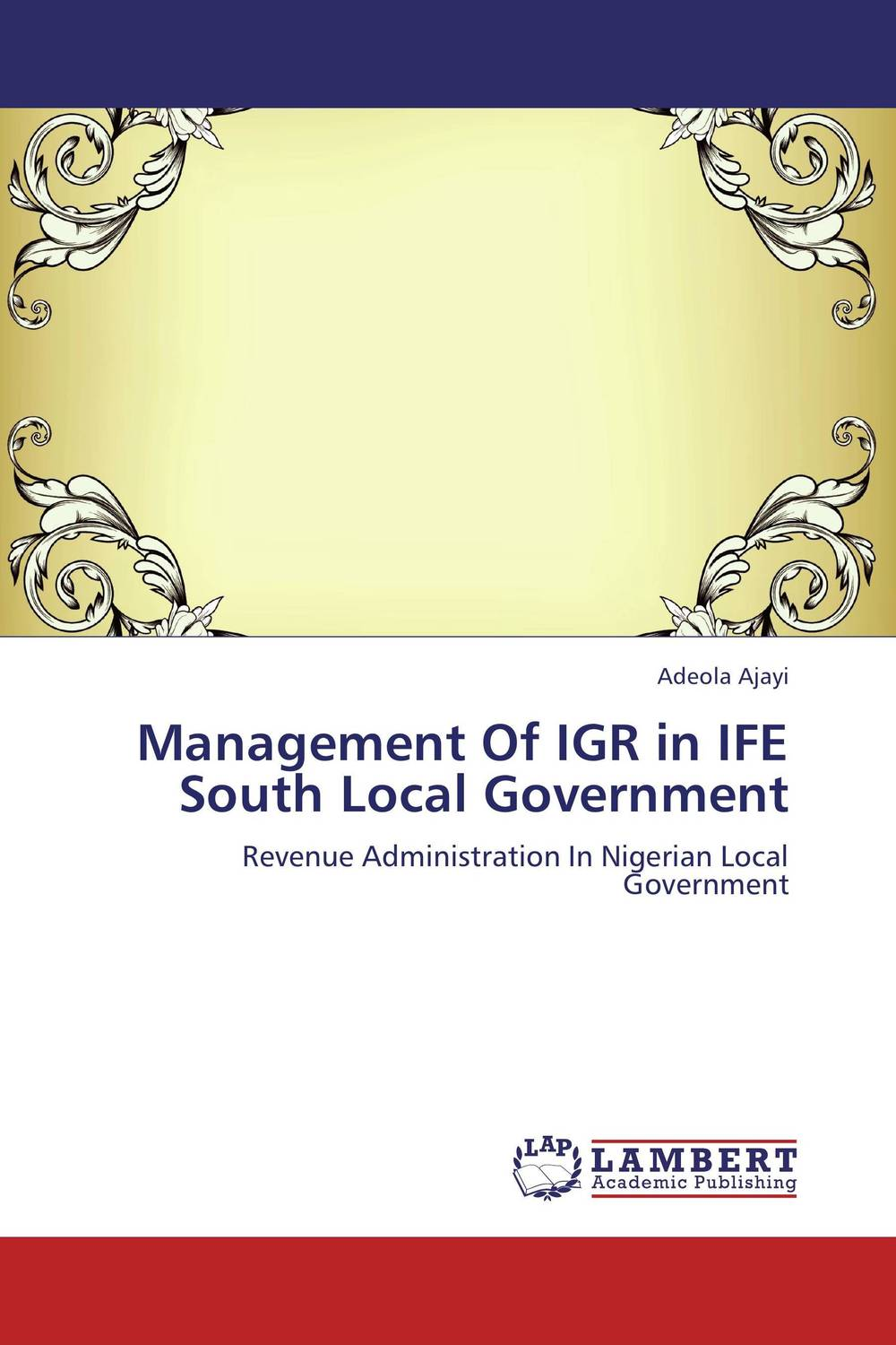 Management Of IGR in IFE South Local Government ways of curbing tax evasion in zimbabwe