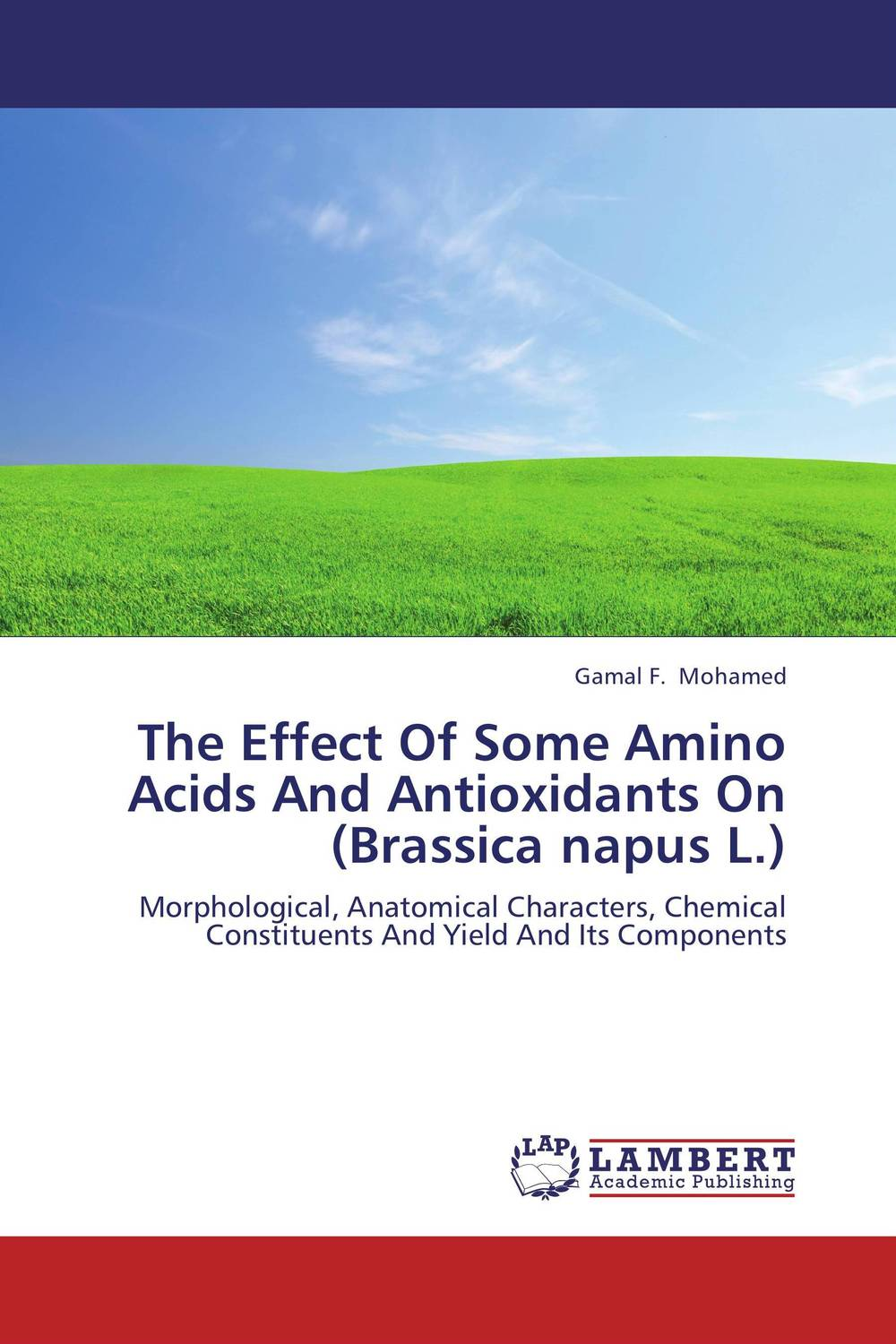 The Effect Of Some Amino Acids And Antioxidants On (Brassica napus L.) tamer el moghazy ahmad mahmoud abd el halem el gamal and amel gaber salem effect of some postharvest treatments on spear and peppermint herbs