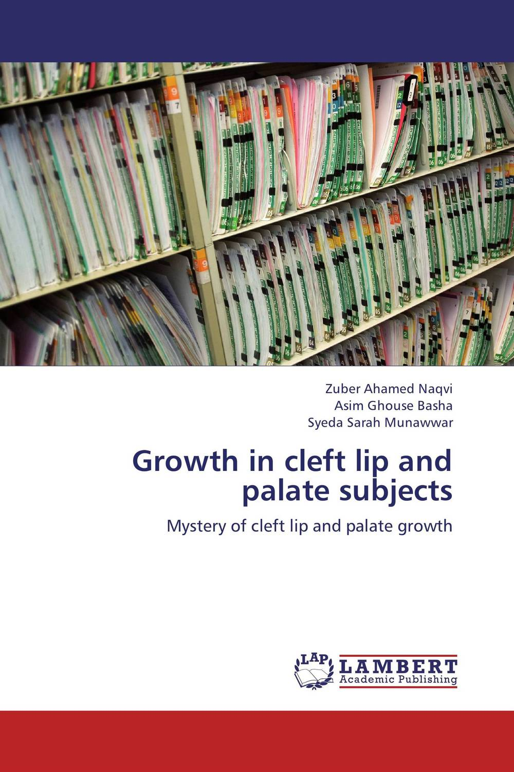 Growth in cleft lip and palate subjects growth in cleft lip and palate subjects