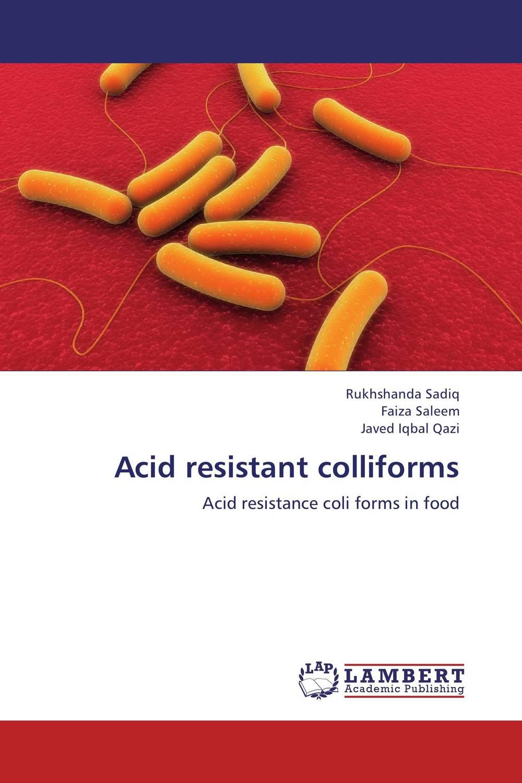 цена на Acid resistant colliforms