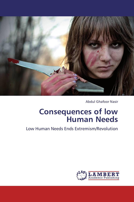 цена на Consequences of low Human Needs