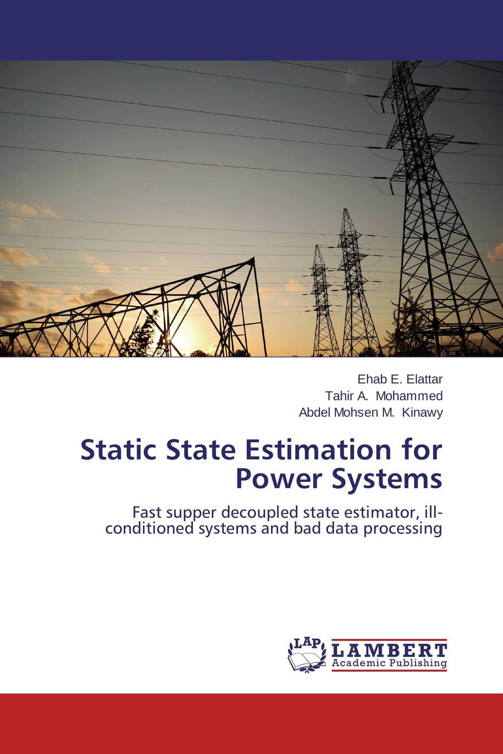 Static State Estimation for Power Systems тонер static control mpt5 10kg