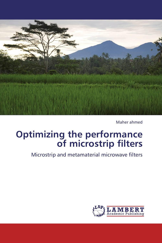 Optimizing the performance of microstrip filters antonio mollfulleda ultra wideband communications based on impulse radio