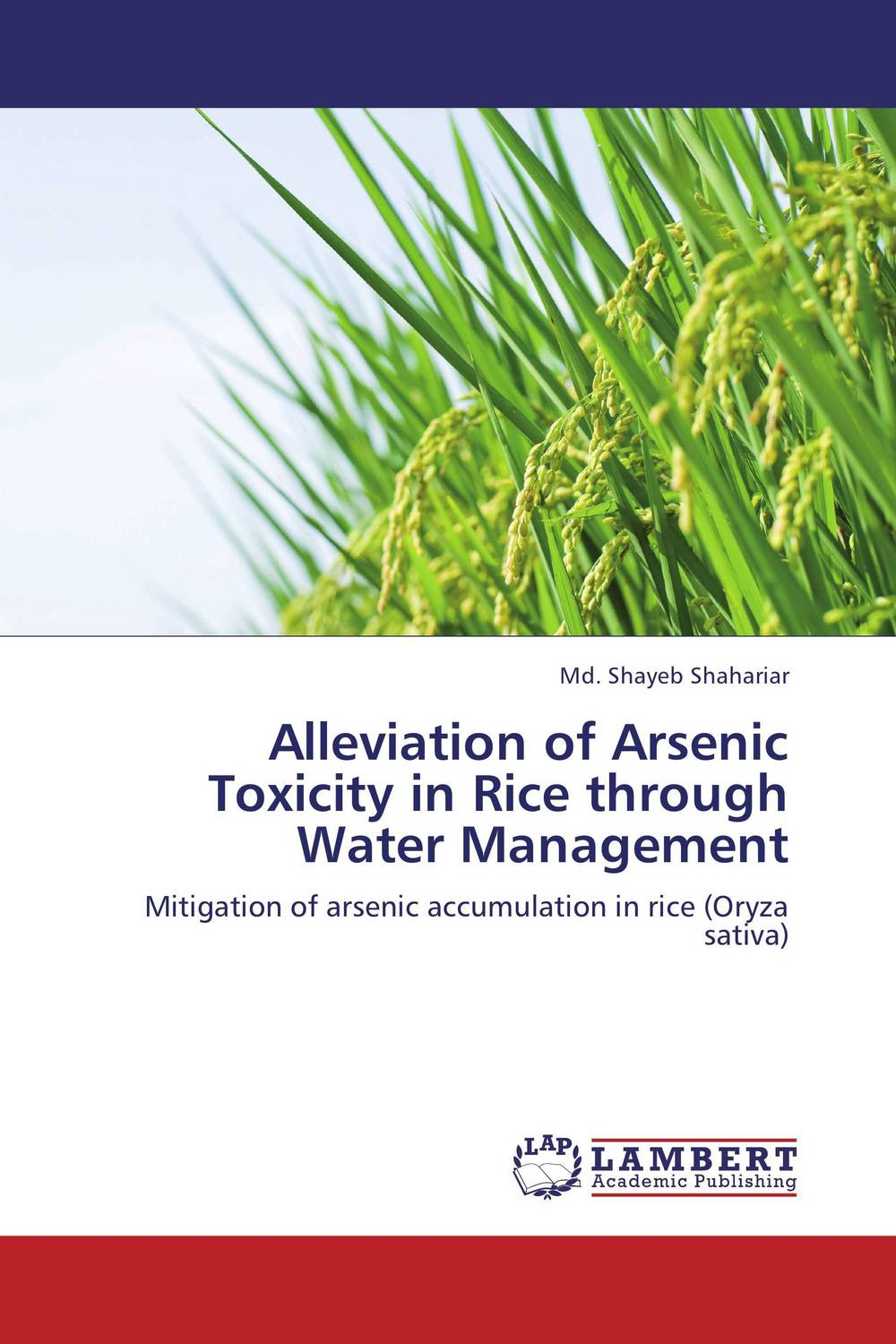 цена на Alleviation of Arsenic Toxicity in Rice through Water Management