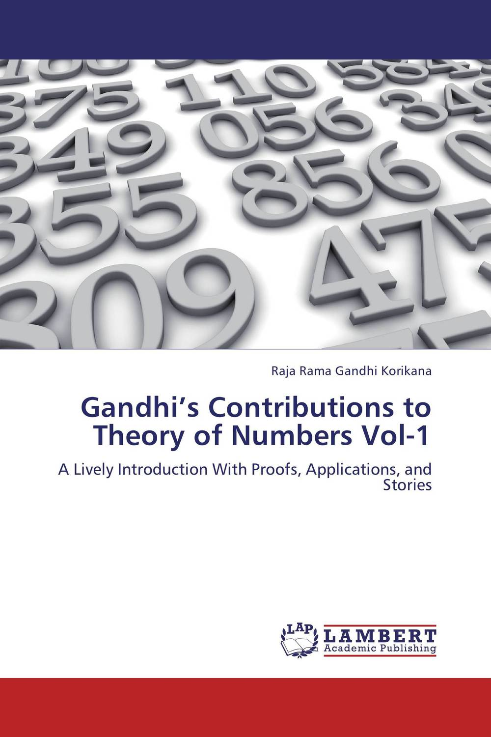 Gandhi's Contributions to Theory of Numbers Vol-1 samuel richardson clarissa or the history of a young lady vol 8