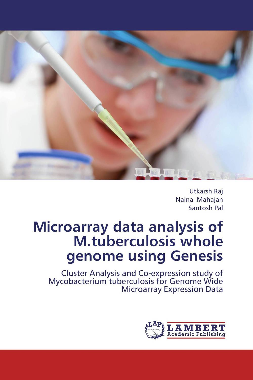 Microarray data analysis of M.tuberculosis whole genome using Genesis bhartrihari pandiya and ruchi yadav microarray gene analysis on parkinson's disease by r