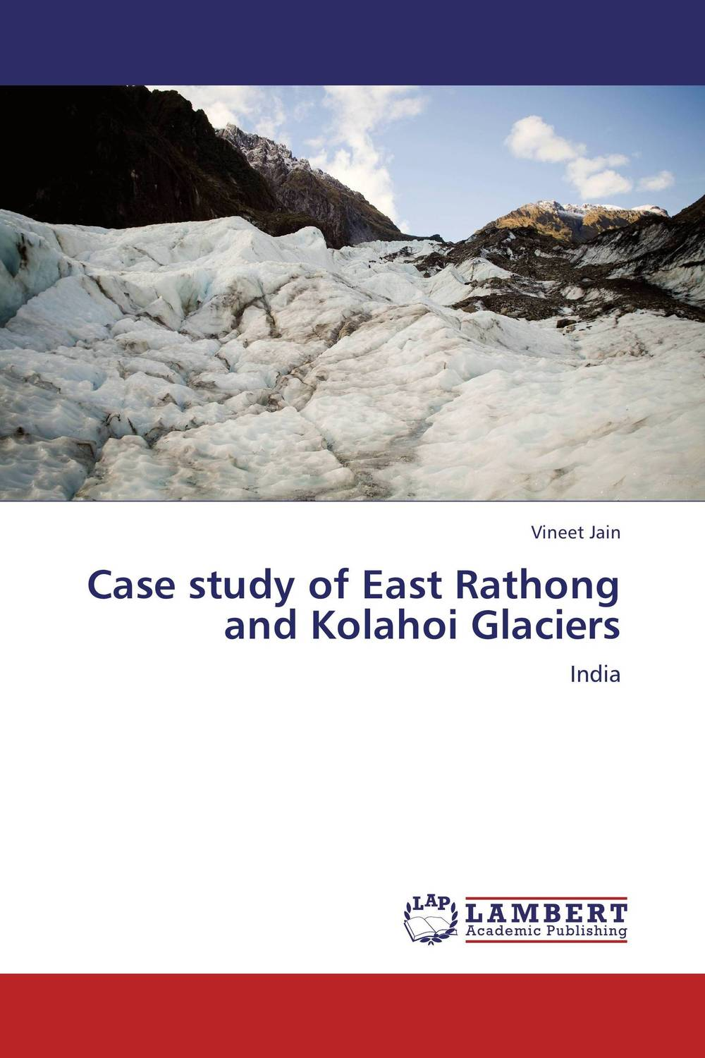 Case study of East Rathong and Kolahoi Glaciers