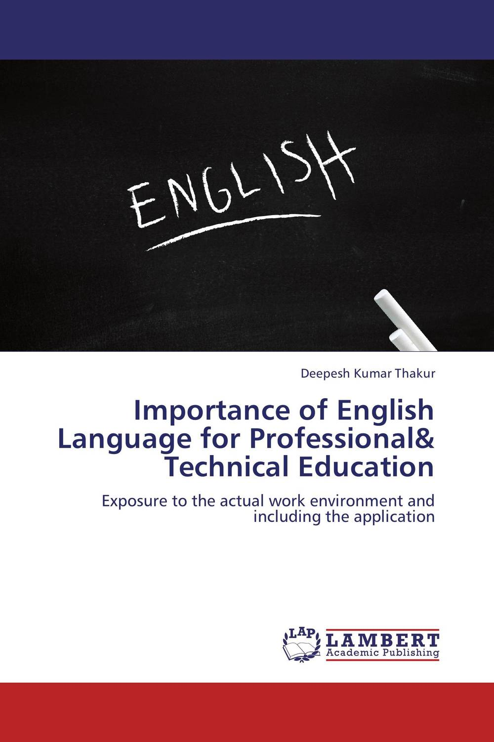 Importance of English Language for Professional& Technical Education