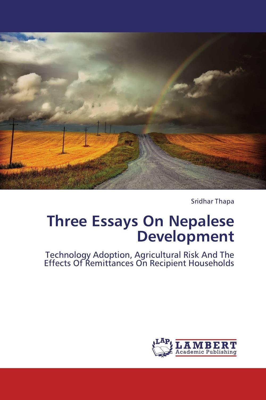 Three Essays On Nepalese Development