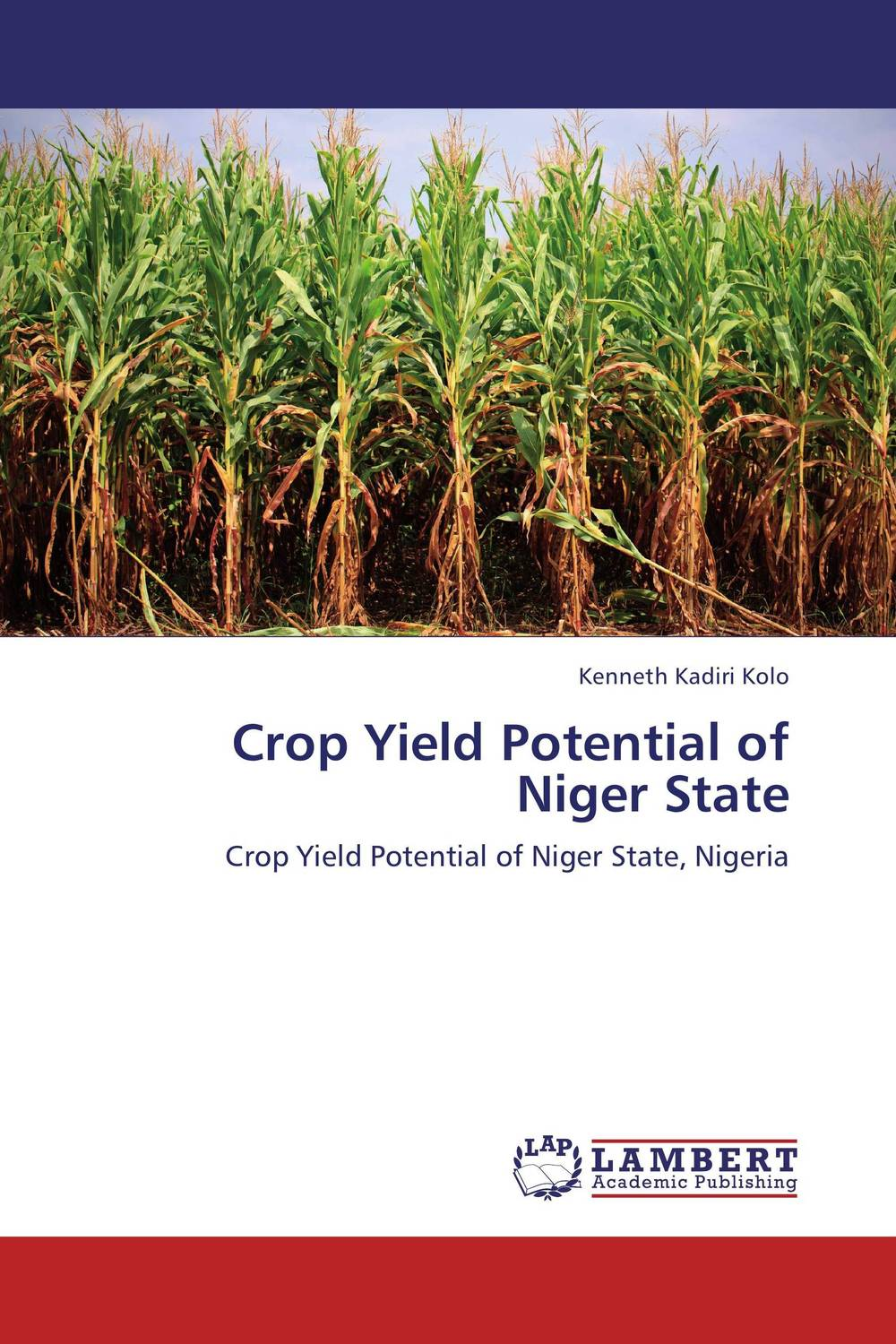 Crop Yield Potential of Niger State affair of state an