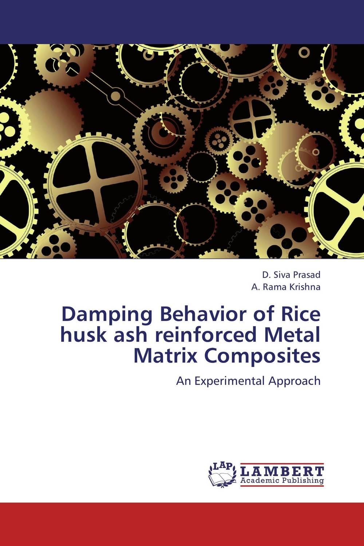 Damping Behavior of Rice husk ash reinforced Metal Matrix Composites husk