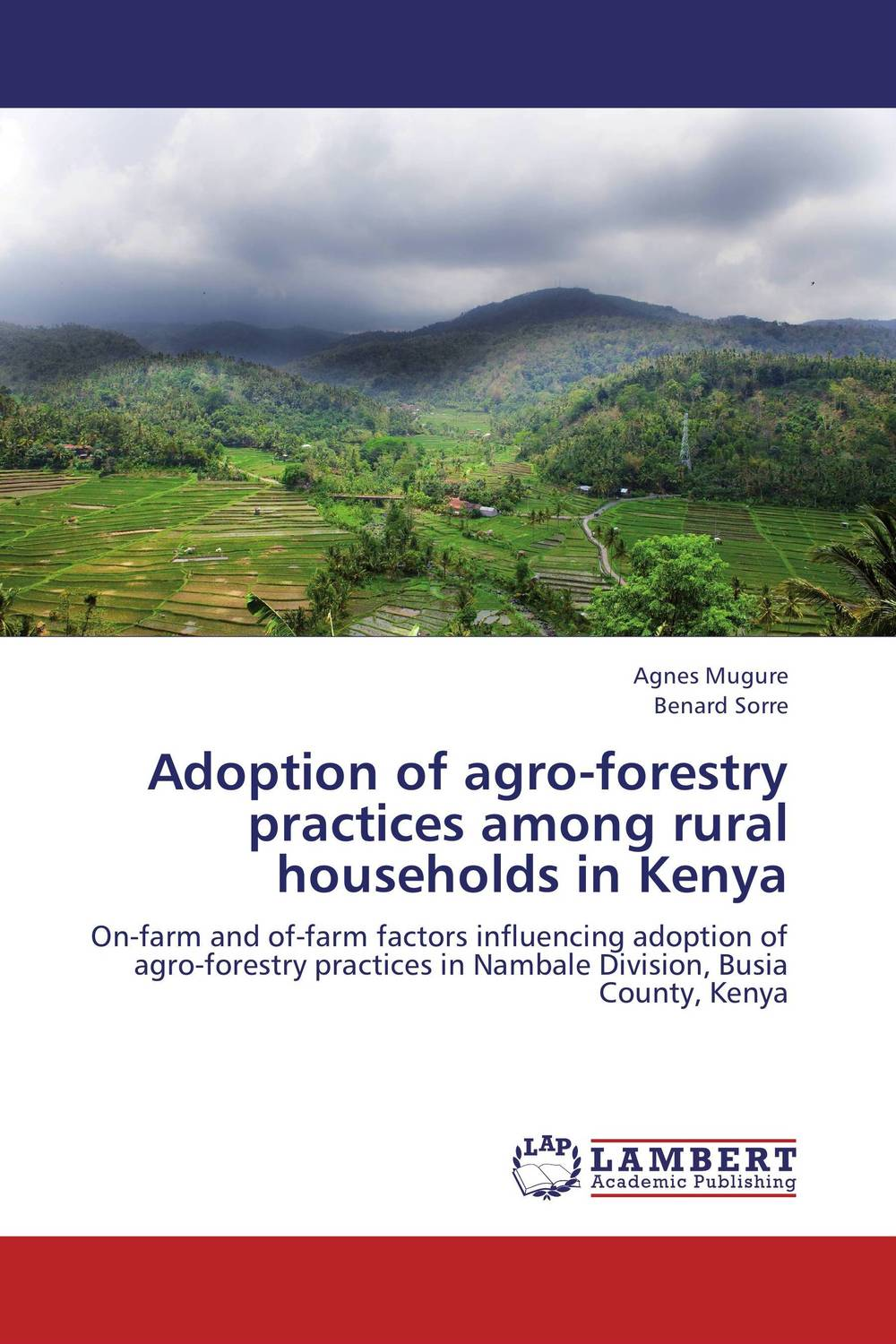 Adoption of agro-forestry practices among rural households in Kenya farm level adoption of water system innovations in semi arid areas