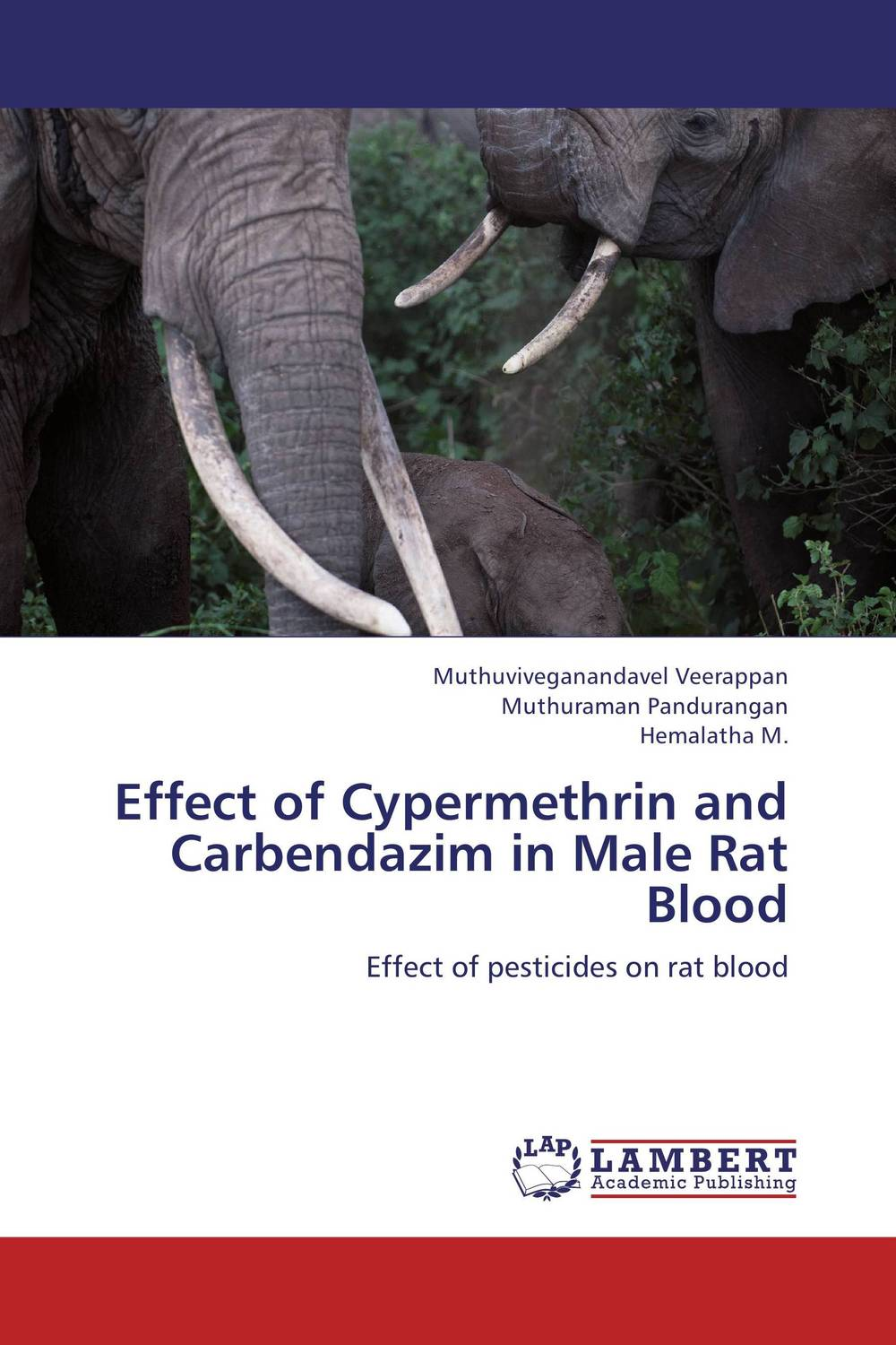 Effect of Cypermethrin and Carbendazim in Male Rat Blood