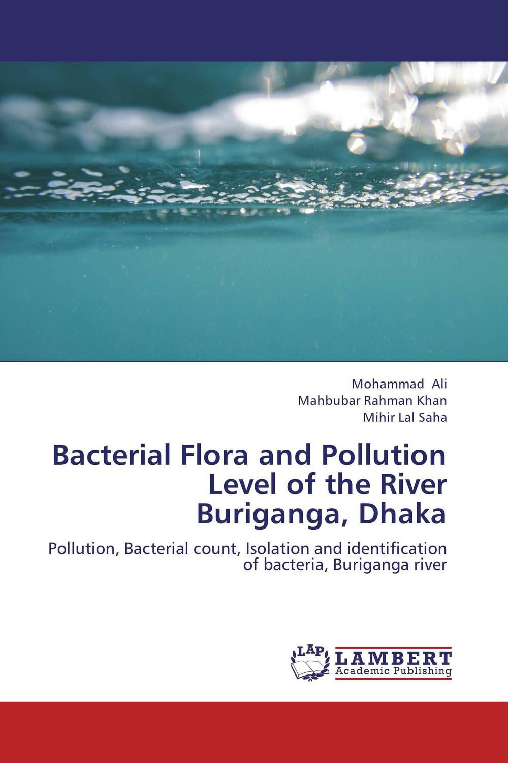 Bacterial Flora and Pollution Level of the River Buriganga, Dhaka analysis of bacterial colonization on gypsum casts