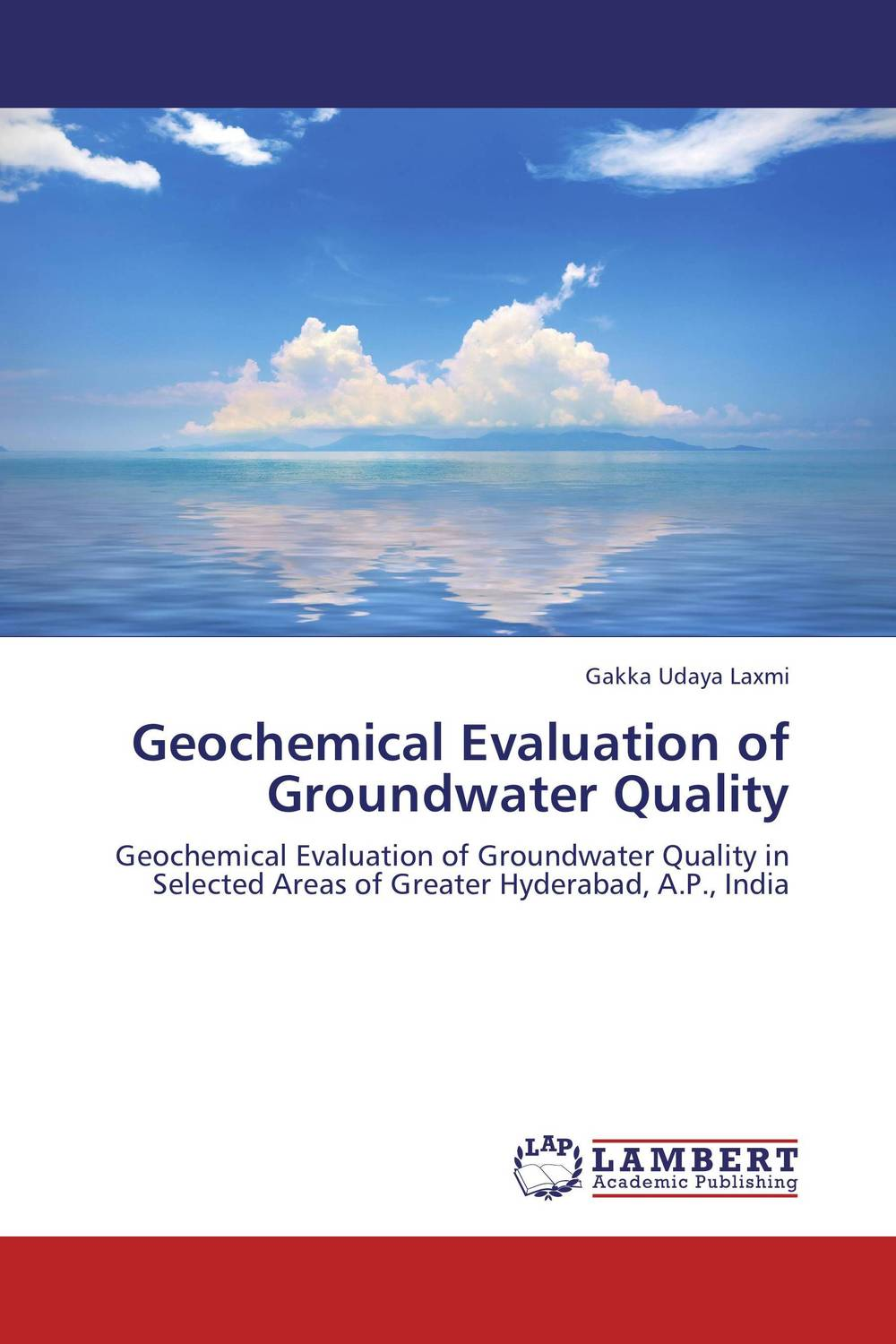 Geochemical Evaluation of Groundwater Quality sources of chloride and its impact on groundwater