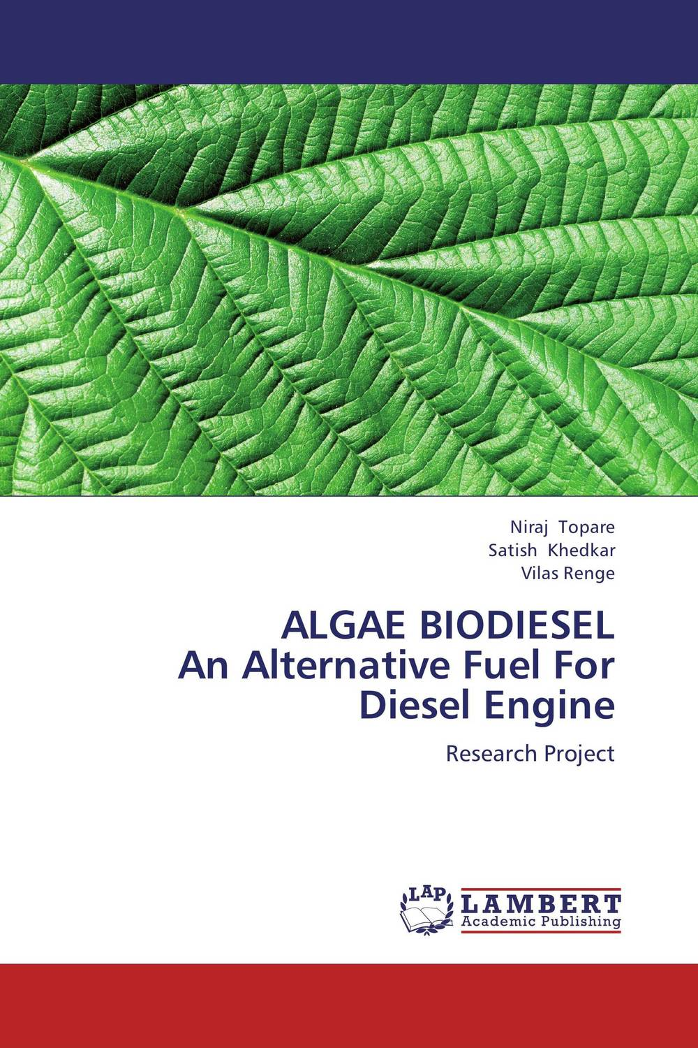 ALGAE BIODIESEL  An Alternative Fuel For Diesel Engine biodiesel from algae