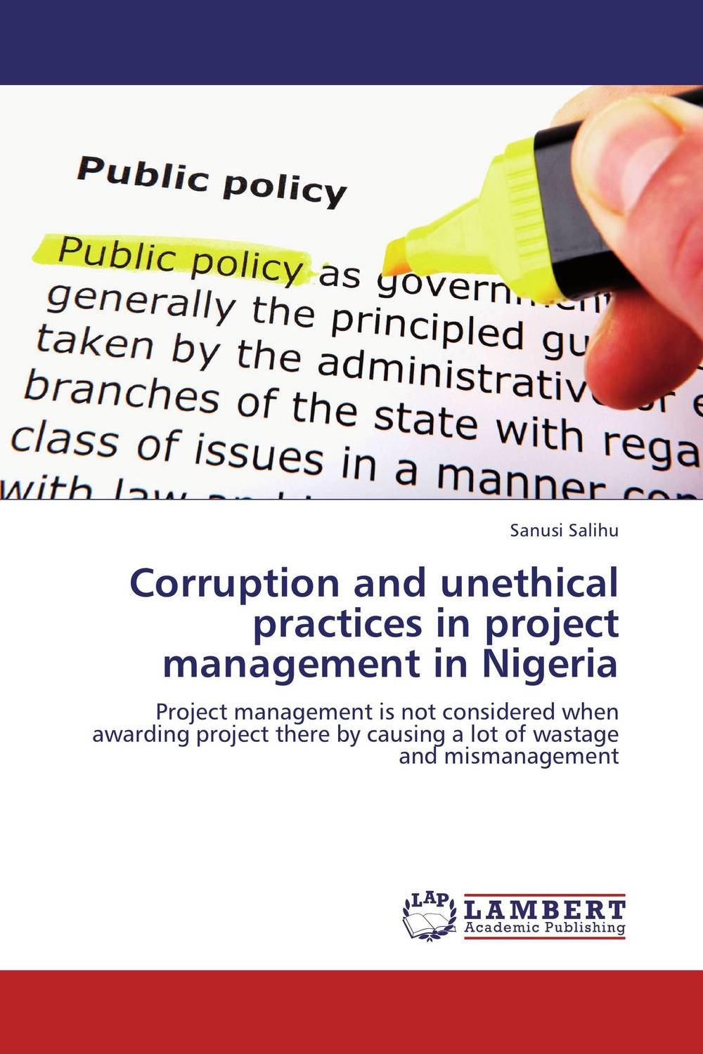 купить Corruption and unethical practices in project management in Nigeria недорого