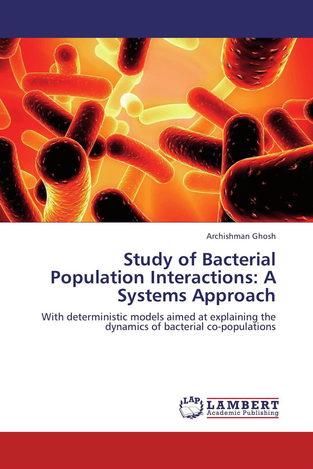 Study of Bacterial Population Interactions: A Systems Approach analysis of bacterial colonization on gypsum casts