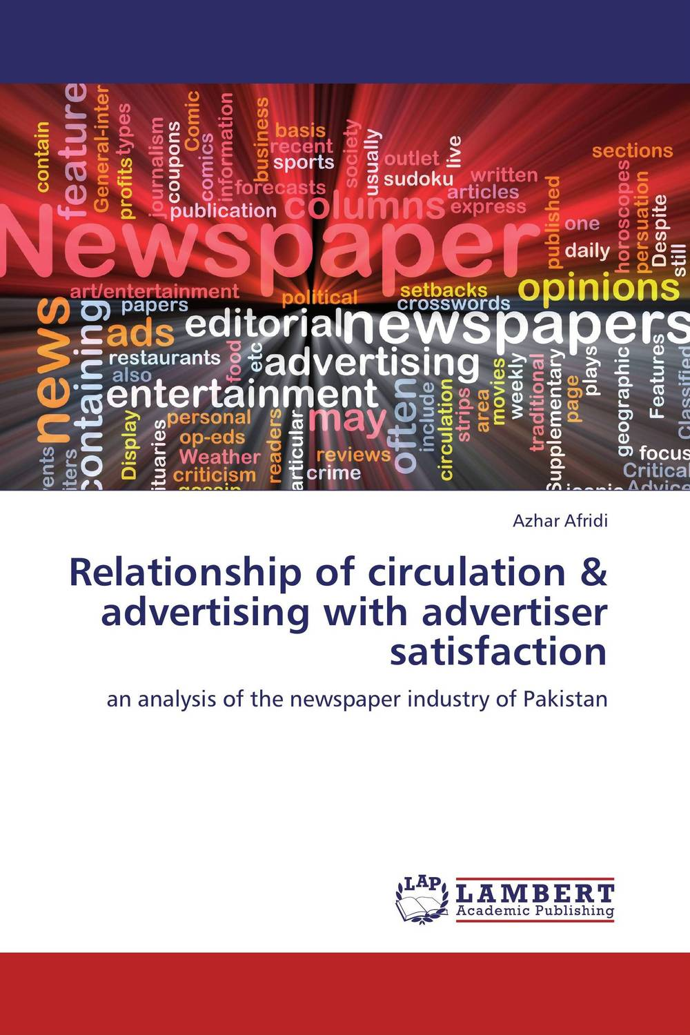 Relationship of circulation & advertising with advertiser satisfaction oksana zhuk advertising consumption and welfare effects of advertising