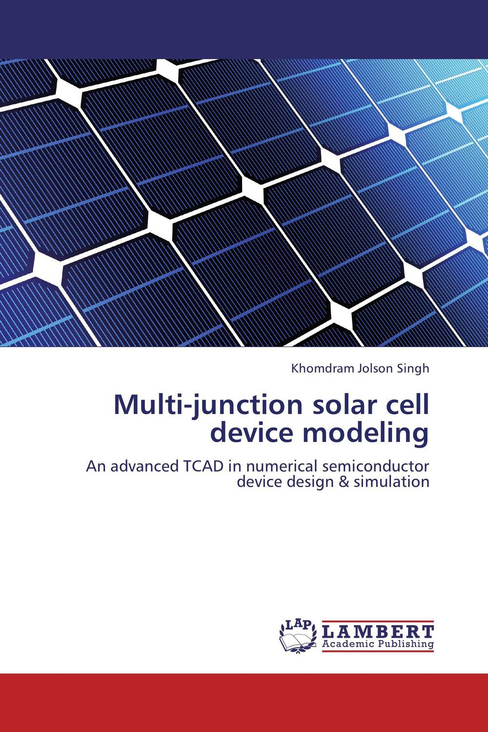 Multi-junction solar cell device modeling