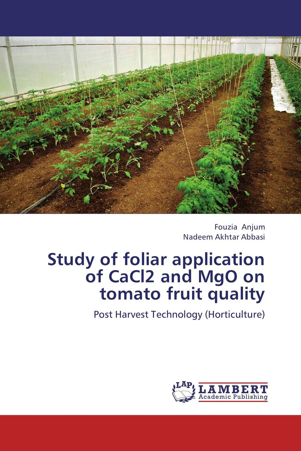 Study of foliar application of CaCl2 and MgO on tomato fruit quality resistance study in tomato