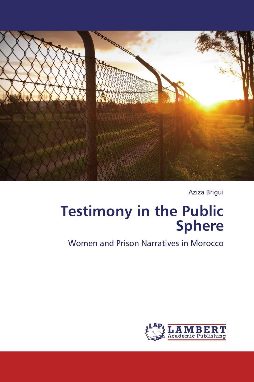 Testimony in the Public Sphere blog journalism as an online public sphere