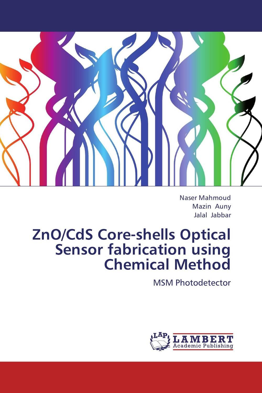 ZnO/CdS Core-shells Optical Sensor fabrication using Chemical Method structure sensor 3d scanner