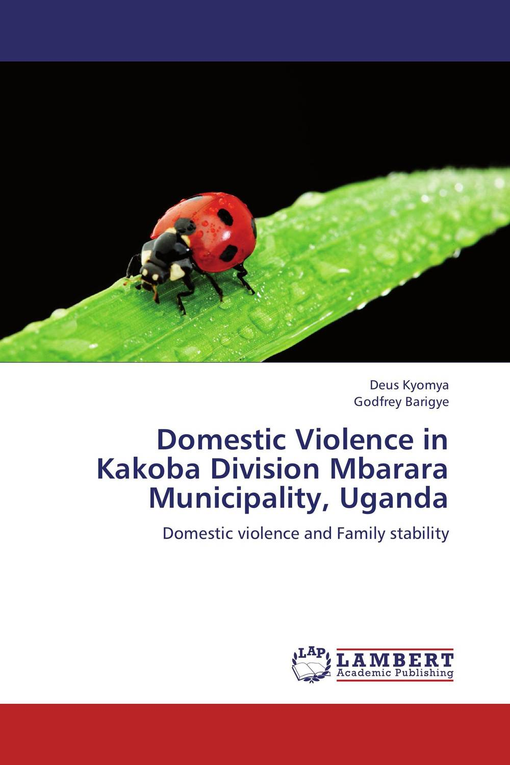 Domestic Violence in Kakoba  Division Mbarara Municipality, Uganda aliou ayaba and lyhotely ndagijimana domestic worker vulnerability to violence and hiv infection