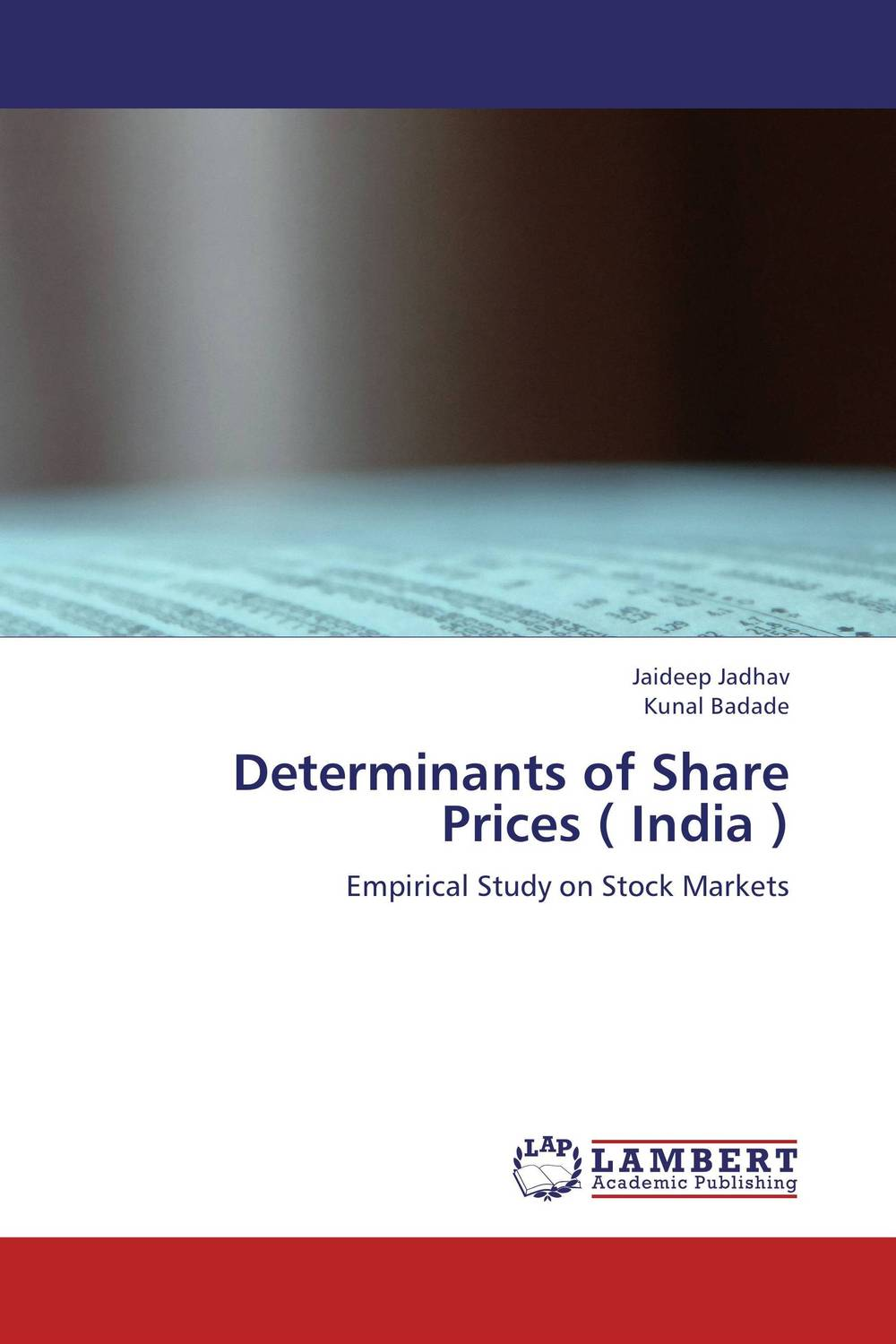 Determinants of Share Prices ( India )