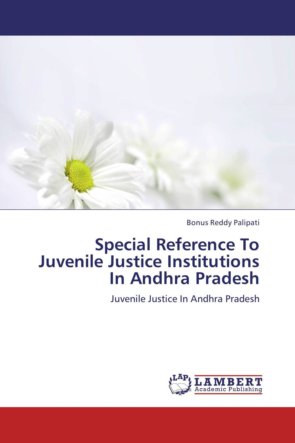 Special Reference To Juvenile Justice Institutions In Andhra Pradesh seeing things as they are
