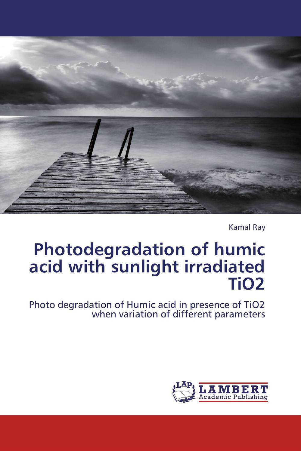 Photodegradation of humic acid with sunlight irradiated TiO2